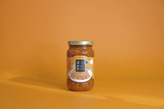 黃金茸泡菜瓶裝12入/箱 1