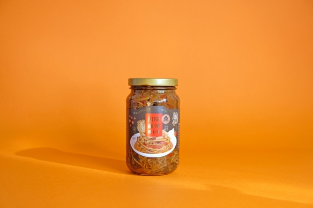 黃金茸泡菜瓶裝12入/箱 2